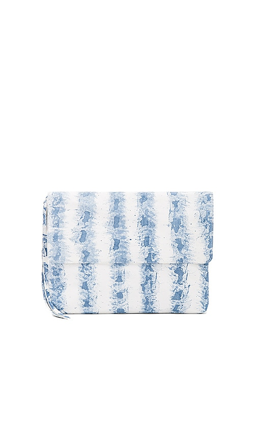 Cleobella Juanita Clutch in Baby Blue