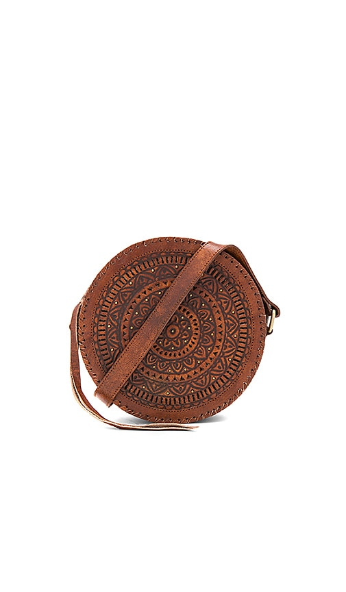 Cleobella Paxton Circle Bag in Brown
