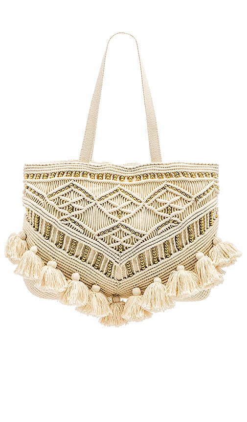 Cleobella Swoon Tote in Cream