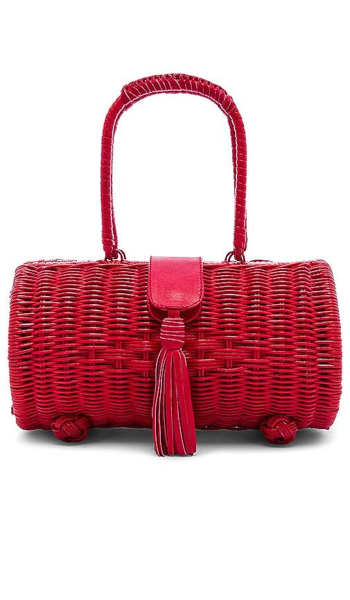 Clarissa Wicker Bag