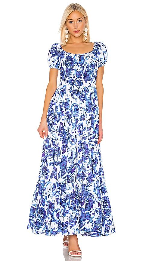 Bardot Maxi Dress by Caroline Constas