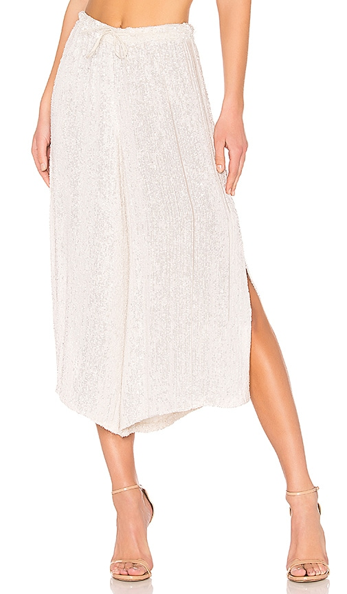Cropped Culotte Pant
