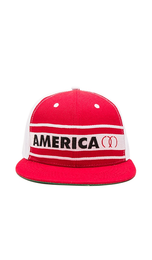 CLOT x REVOLVE America Cap in Red
