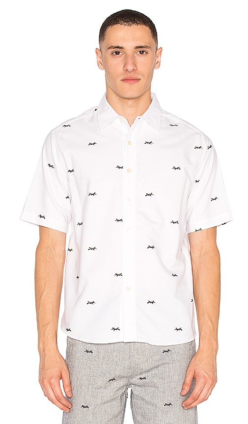 CLOT Diver S/S Shirt in White