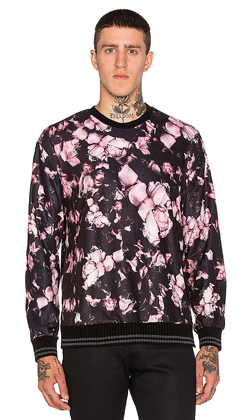 Clover Canyon Night Blooms Pullover in Wine