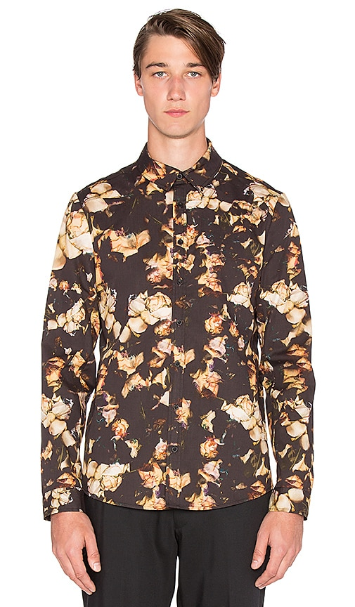 Clover Canyon Night Blooms Shirt in Neutral