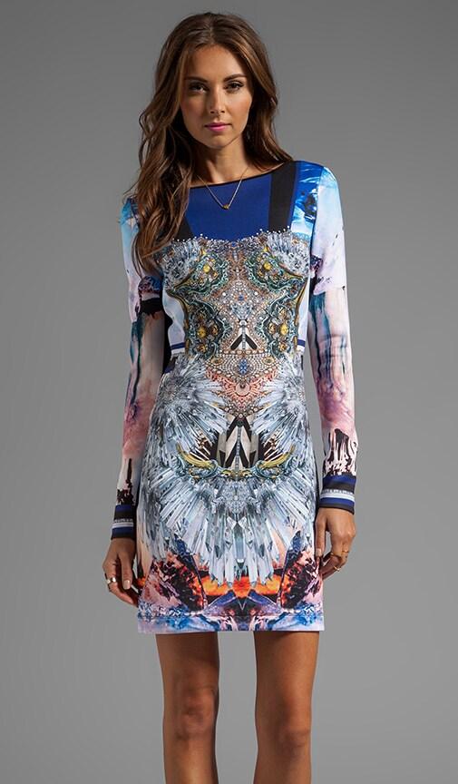 Crystal Corset Neoprene Dress