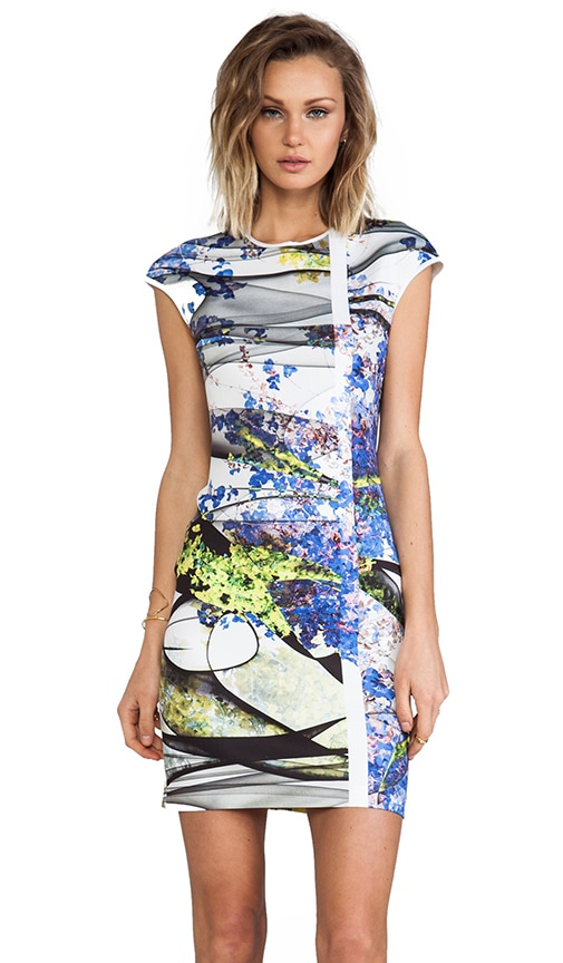 Space Garden Neoprene Dress