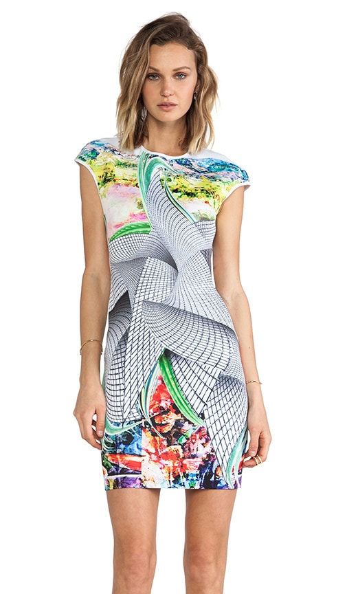 Sculpture Garden Neoprene Dress