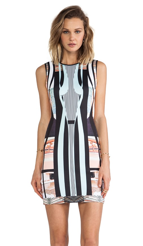 Desert Home Neoprene Dress