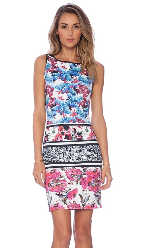 Clover Canyon x REVOLVE Floral Garden Scarf Dress in Multi