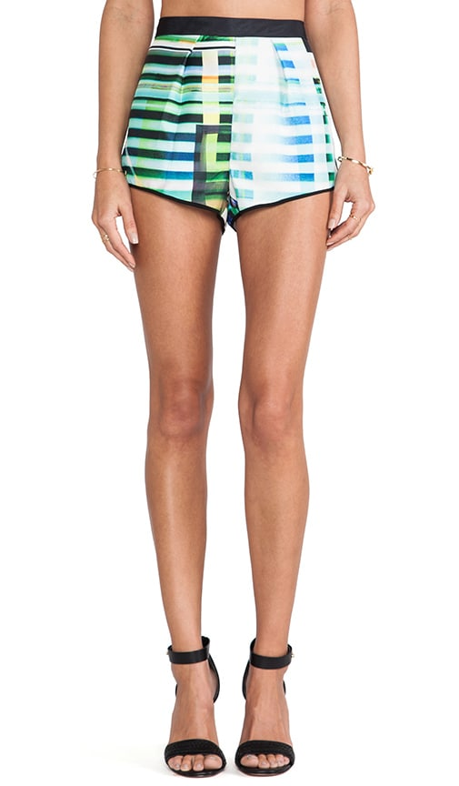 Garden Plaid Shorts