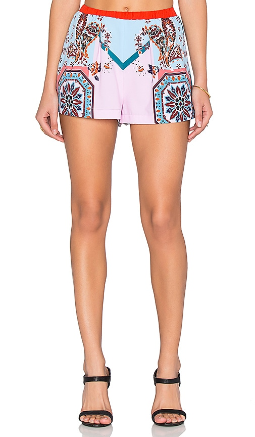 Clover Canyon Modern Paisley Short in Multi
