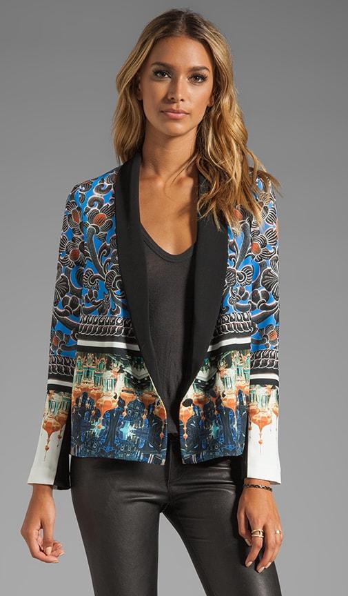 Arabesque Scarf Jacket