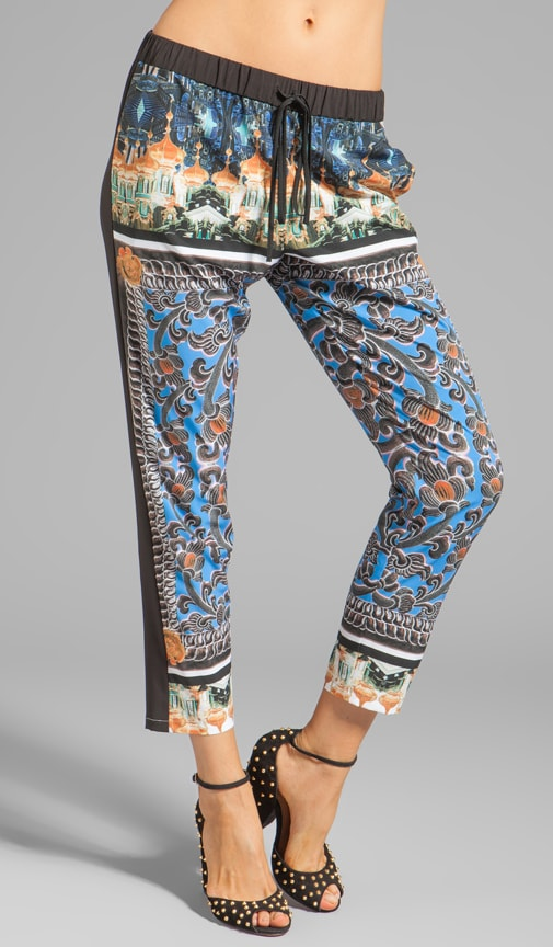 Arabesque Scarf Pants