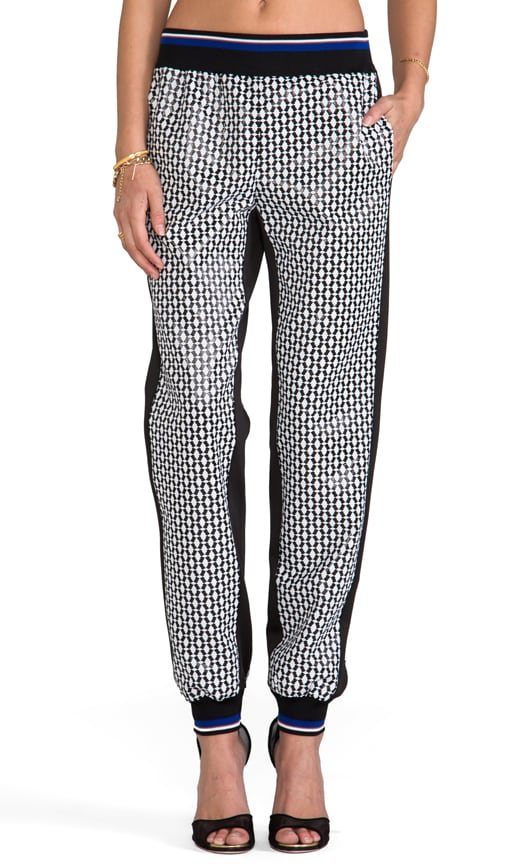 Pineapple Jacquard Pants