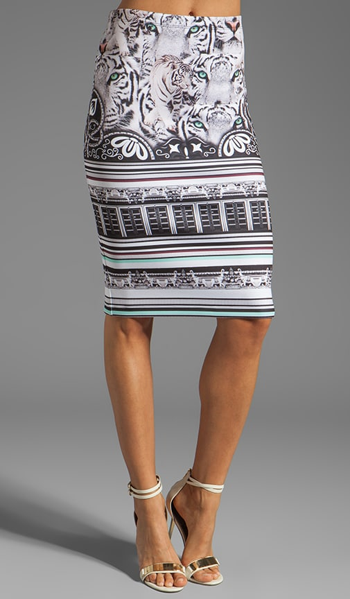 Eye Of The Tiger Neoprene Skirt