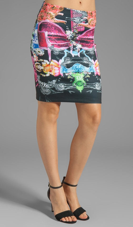 Animal House Neoprene Skirt