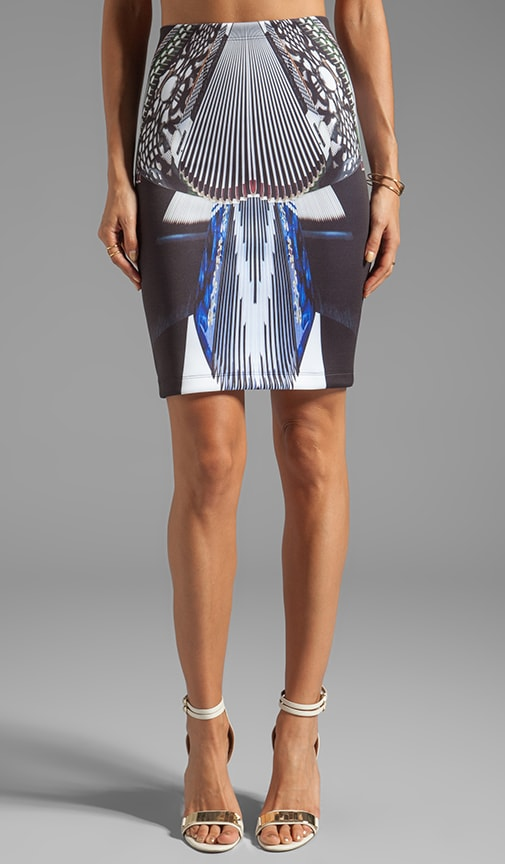 Accordian Dance Neoprene Skirt