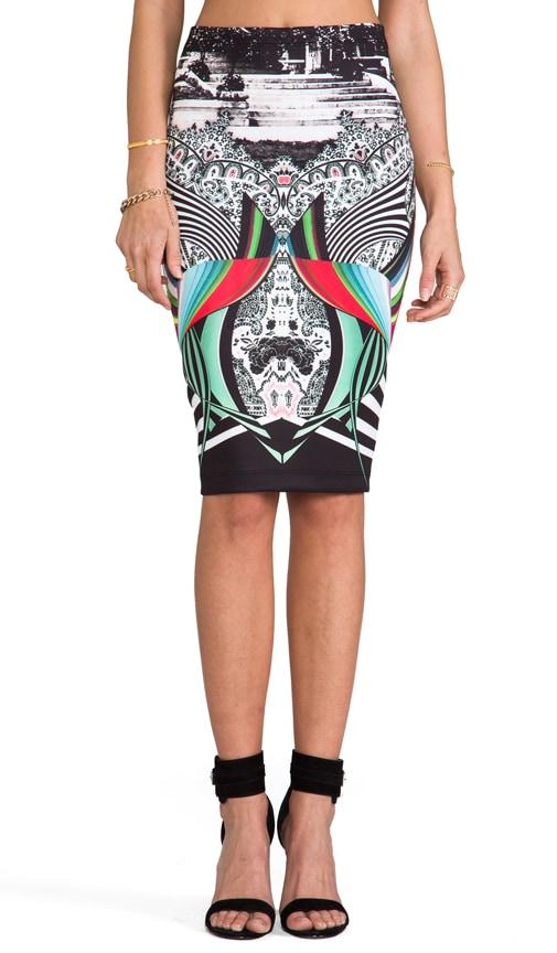Swirl Scarf Skirt