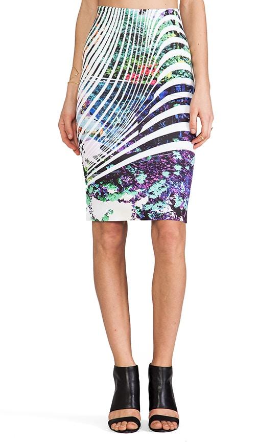 Ribbon Landscape Neoprene Skirt