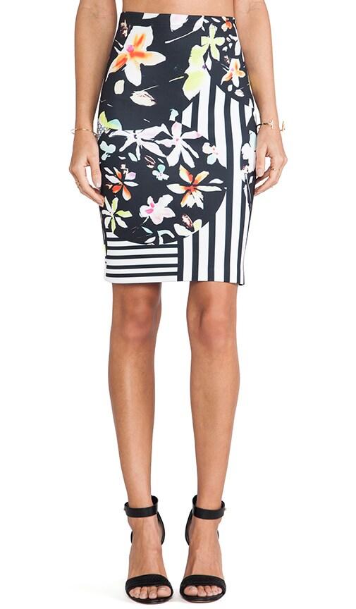 Floral Discs Neoprene Skirt