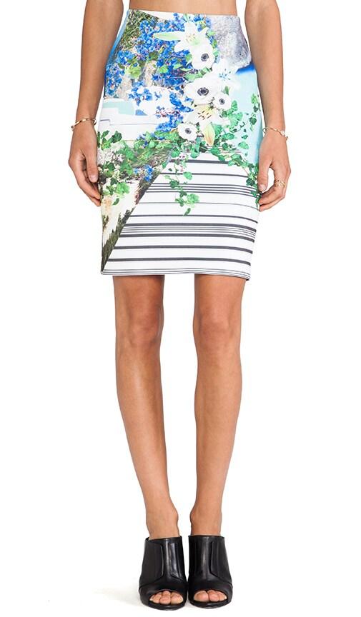 Corfu Swirl Neoprene Skirt