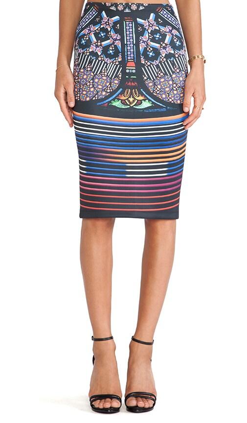 Stained Glass Neoprene Skirt
