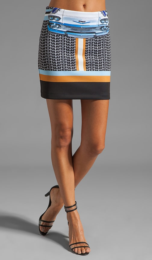 Petal to the Metal Neoprene Skirt