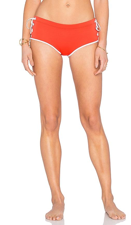 Clover Canyon Bikini Bottom in Red