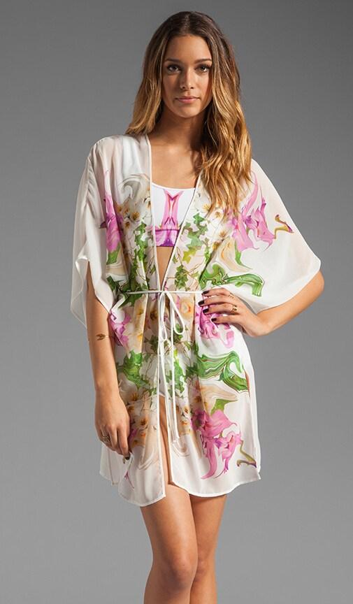 Flower Filigree Kimono
