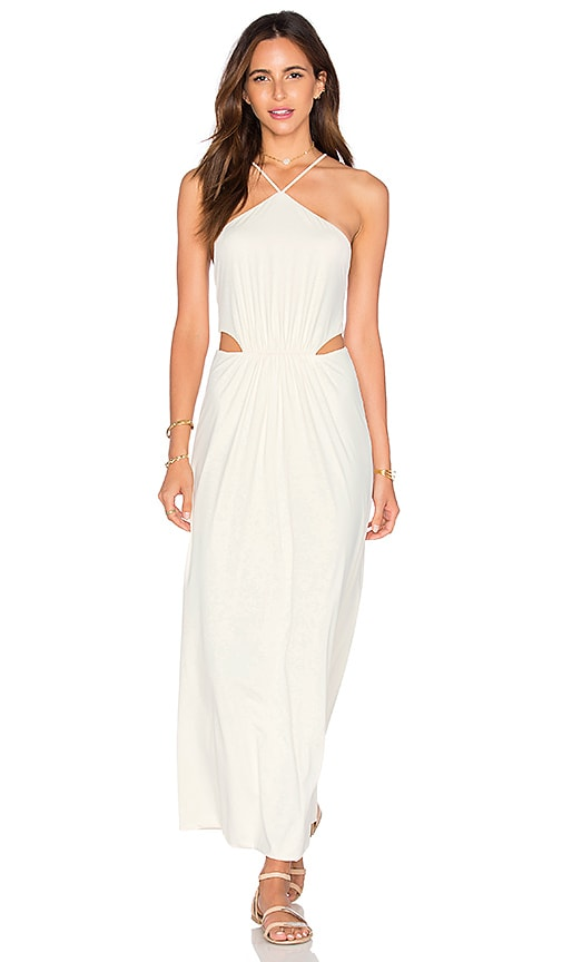 CLUBE BOSSA Middleton Maxi Dress in Ivory