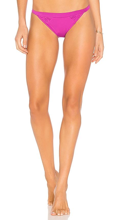 CLUBE BOSSA Eames Bikini Bottom in Purple
