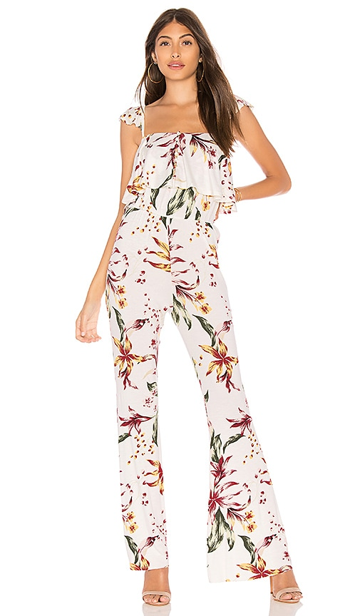 Clayton Memphis Jumpsuit in White