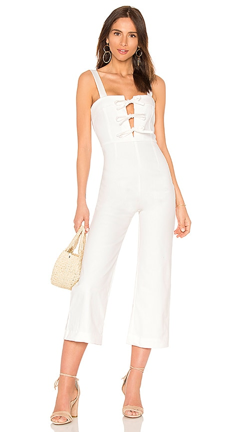 Clayton Darcie Jumpsuit in White