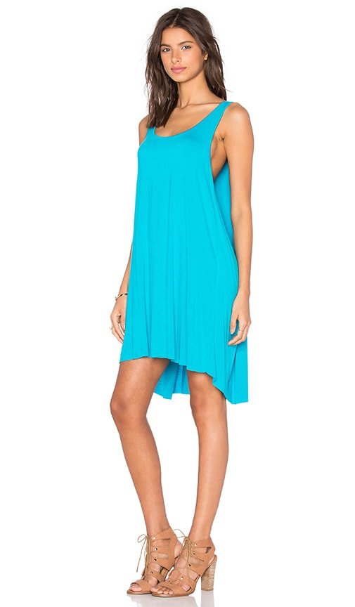 Clayton Jorgie Dress in Turquoise