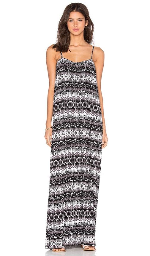 Clayton Sandy Dress in Black & White