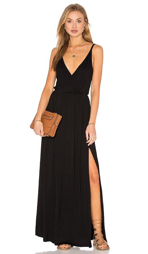 Clayton Aniya Maxi Dress in Black