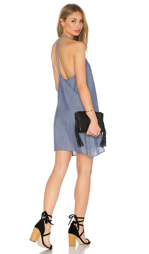 Clayton Leah Dress in Blue