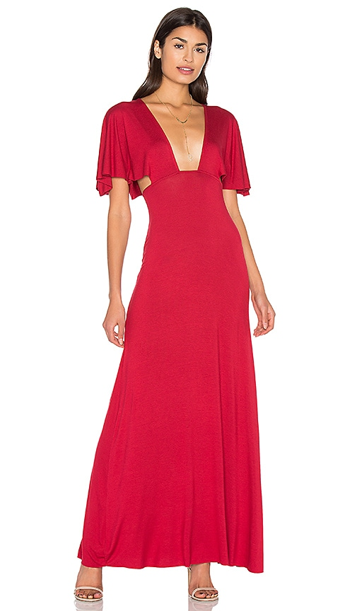Clayton Jaelyn Dress in Red
