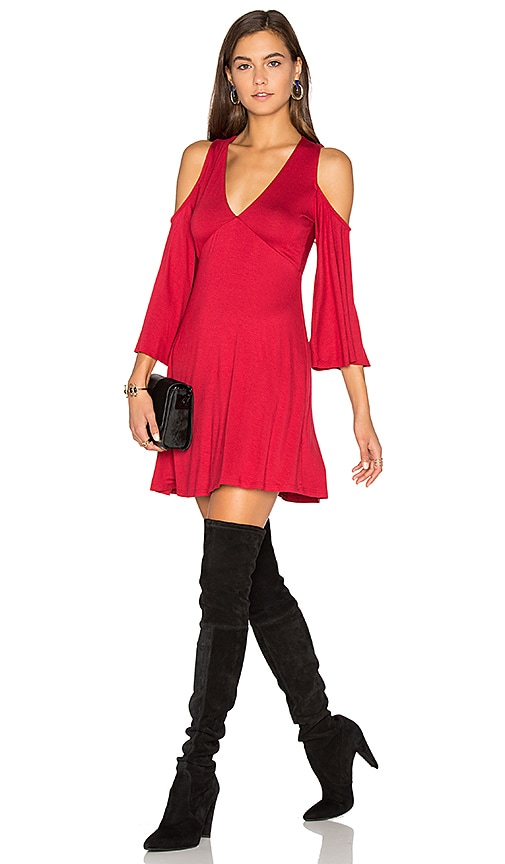 Clayton Becca Dress in Red