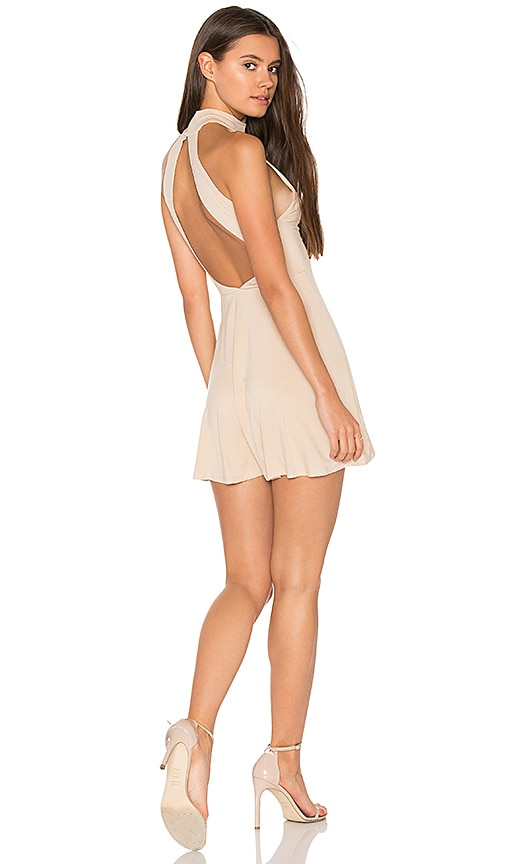 Clayton Aliza Dress in Tan