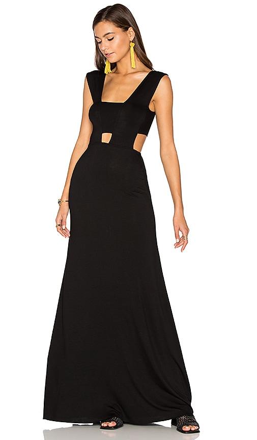 Clayton Michelle Dress in Black