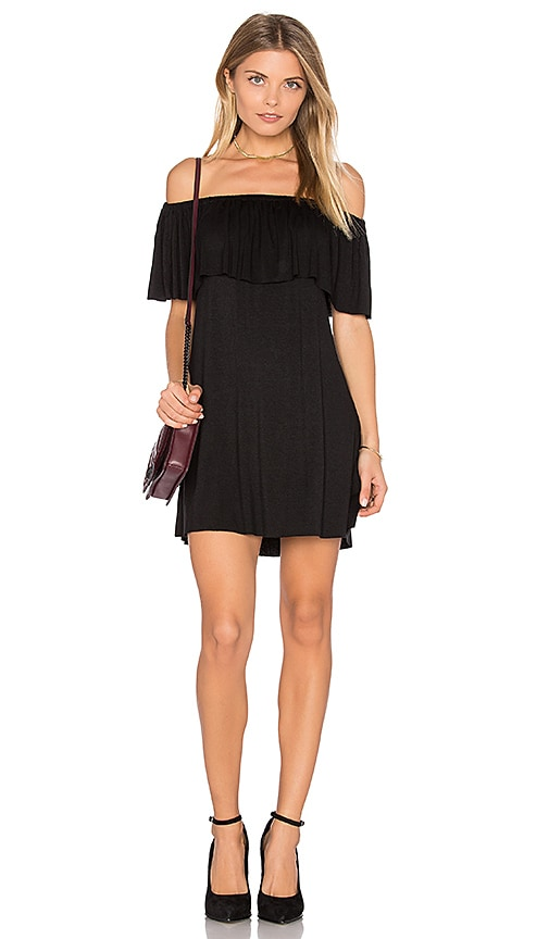 Clayton Amalia Dress in Black