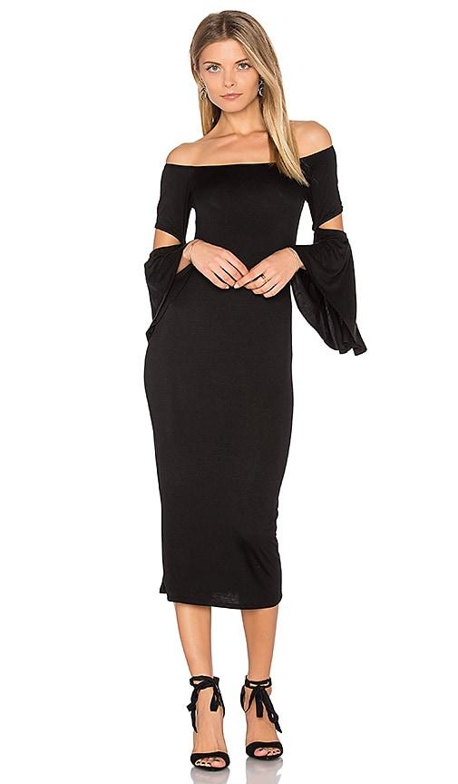 Clayton Tabatha Dress in Black