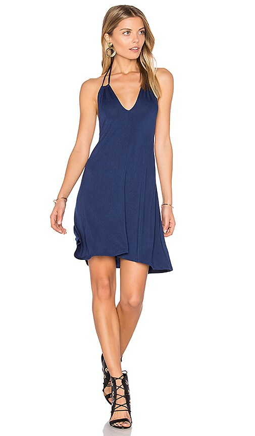 Clayton Eliza Dress in Blue