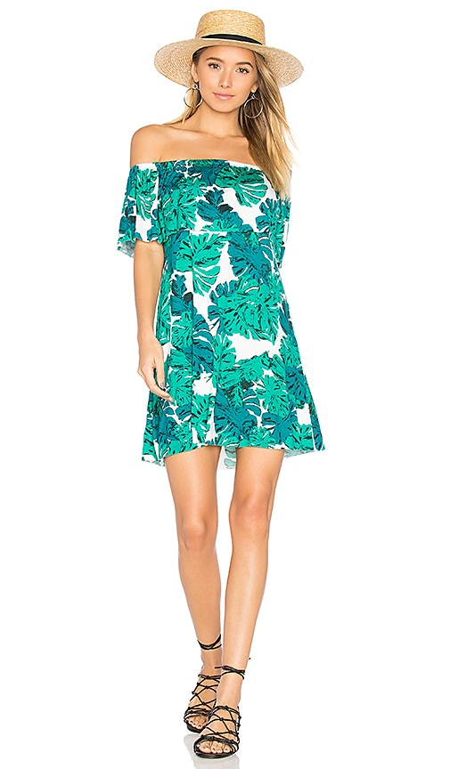 Clayton Amalia Dress in Green