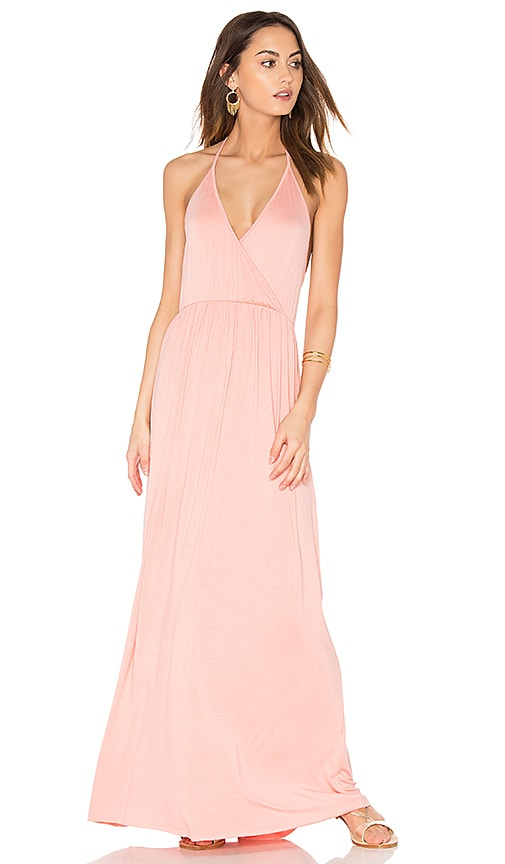 Clayton Penelope Dress in Peach
