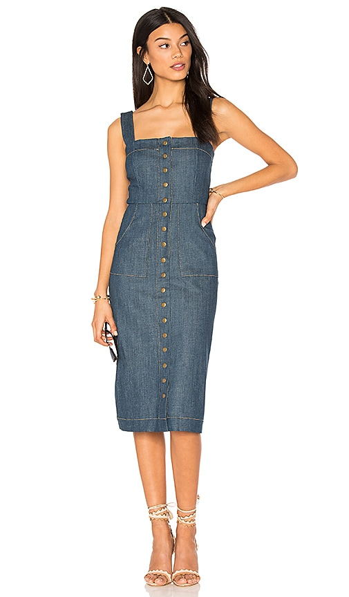 Marina Denim Candace Dress