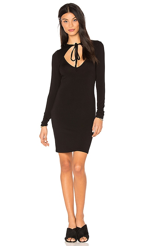Clayton Aubrey Dress in Black